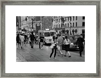 New York, New York 19 Framed Print