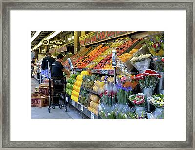New York, New York 21 Framed Print