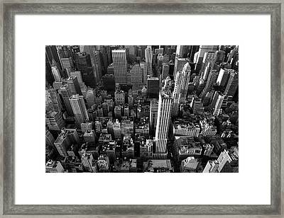 New York, New York 5 Framed Print