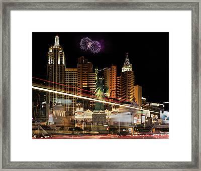 New York New York Framed Print by Joseph Sassone