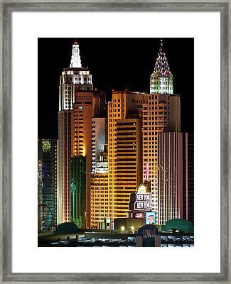 New York New York Framed Print by Rae Tucker