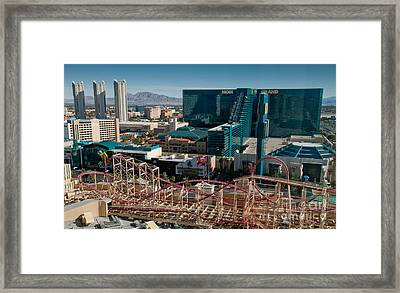 New York New York Rollercoaster Framed Print by Andy Smy