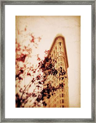 New York Nostalgia Framed Print by Jessica Jenney