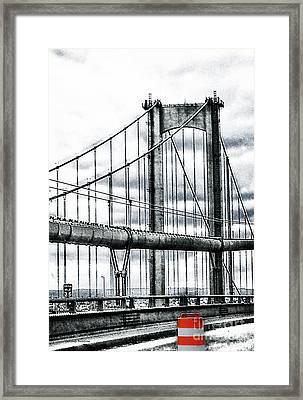 New York, Ny Framed Print by Gerlinde Keating - Galleria GK Keating Associates Inc