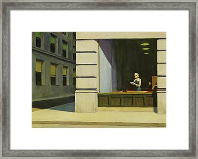 New York Office, 1962 Framed Print