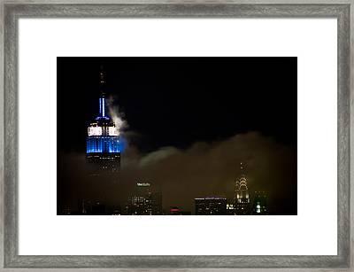 New York Framed Print by Patrick  Flynn
