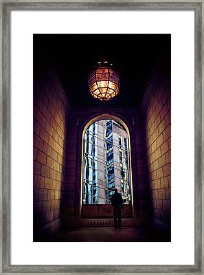 Framed Print featuring the photograph New York Perspective by Jessica Jenney