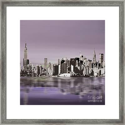 New York Skylines 88 Framed Print
