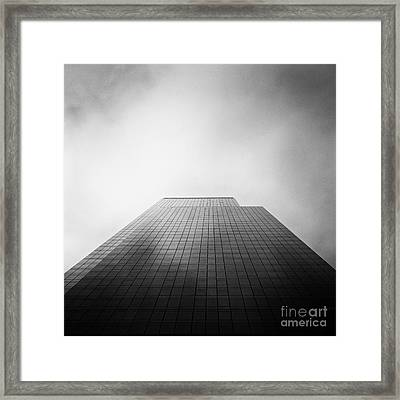 New York Skyscraper Framed Print by John Farnan