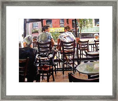 New York Spice Framed Print by Chuck Berk