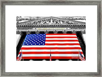 New York Stock Exchange 2006 Framed Print