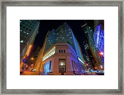 New York Stock Exchange Framed Print