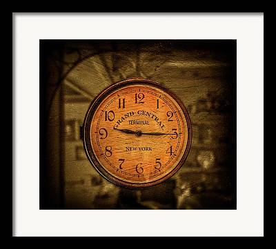 Antique Clocks Framed Prints