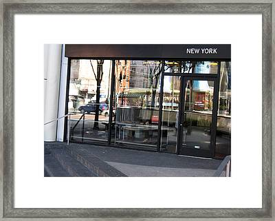 New York Framed Print by Tom Hefko
