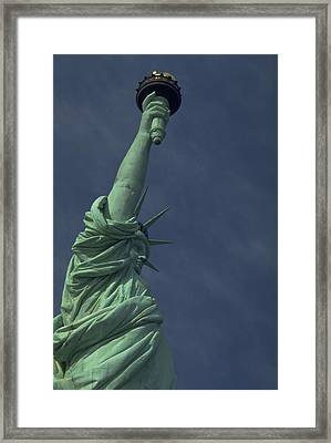 Framed Print featuring the photograph New York by Travel Pics