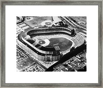 New York: Yankee Stadium Framed Print by Granger