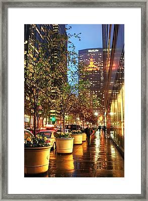 New York06 Framed Print by Svetlana Sewell