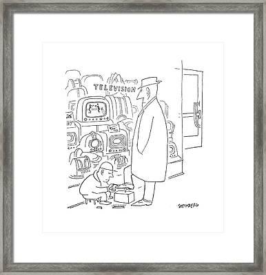 New Yorker April 29th, 1950 Framed Print