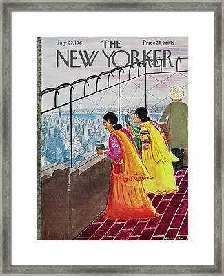 New Yorker July 22 1961 Framed Print