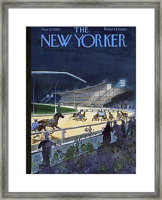 New Yorker May 12 1962 Framed Print by Garrett Price