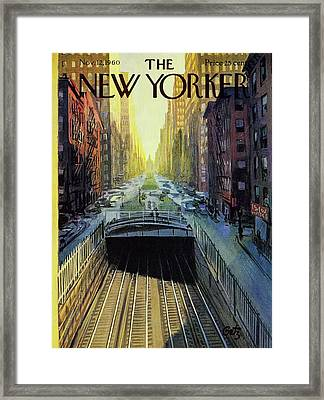 New Yorker November 12 1960 Framed Print