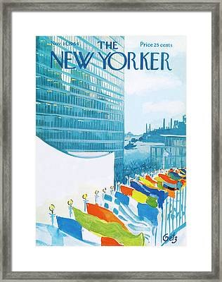 New Yorker November 14th, 1964 Framed Print