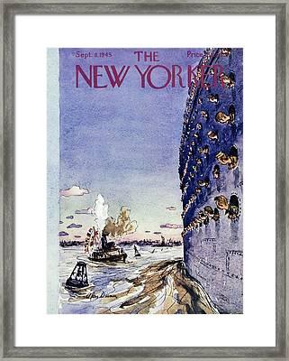 New Yorker September 8 1945 Framed Print