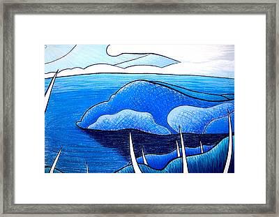 New Zealand Bay Framed Print by Jason Charles Allen