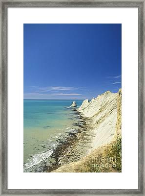 New Zealand, Beach Framed Print by Reggie David - Printscapes