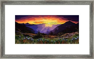 New Zealand  Framed Print