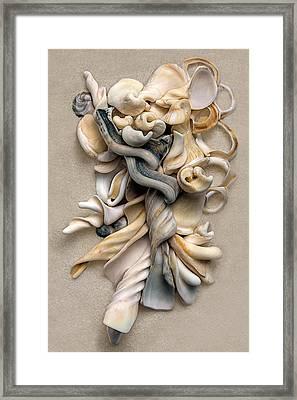 New Zealand Opus 01 Framed Print by Carol Zee