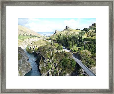 New Zealand Scene Framed Print by Constance DRESCHER