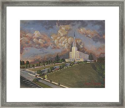 New Zealand Temple Framed Print by Jeff Brimley
