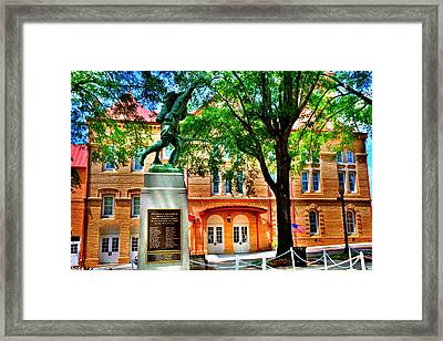 Framed Print featuring the photograph Newberry Opera House by Lisa Wooten