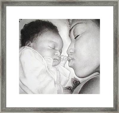 Newborn Framed Print by Melodye Whitaker