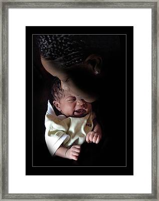 Newborn Framed Print by Richard Gordon