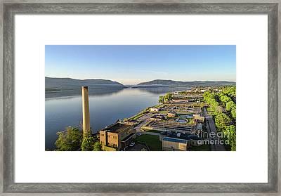 Newburgh And The Hudson Highlands Framed Print