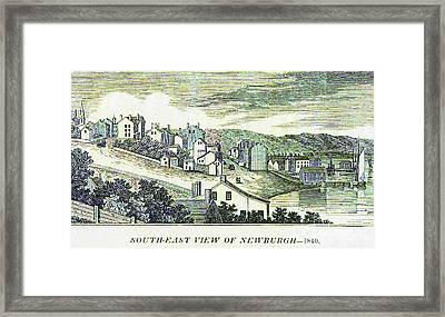 Newburgh Broadway - 01 Framed Print