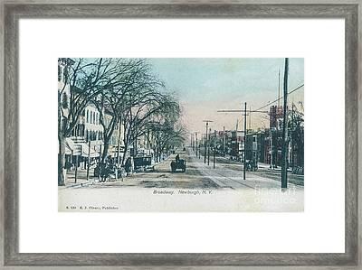 Newburgh Broadway - 04 Framed Print