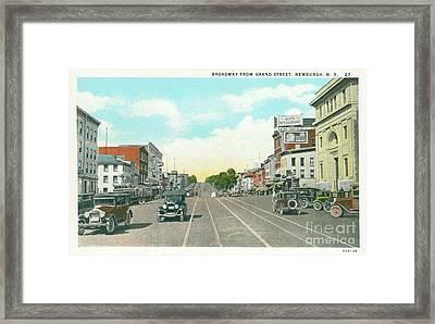 Newburgh Broadway - 05 Framed Print
