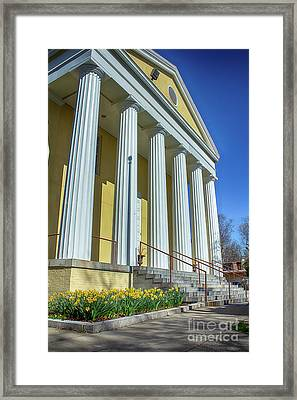 Newburgh Courthouse On Grand Street 2 Framed Print