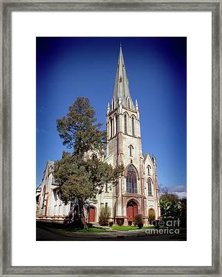 Newburgh First United Methodist Church Framed Print