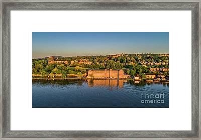 Newburgh Waterfront At Sunrise 2 Framed Print