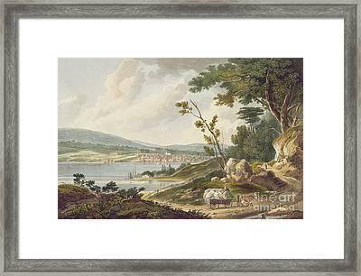 Newburgh Framed Print by William Guy Wall