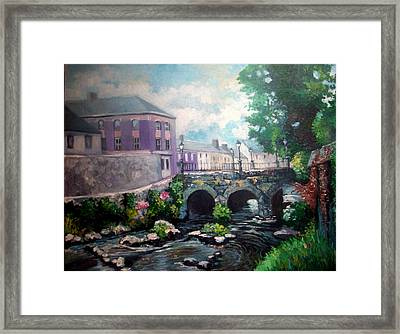 Newcastle West Co Limerick Framed Print