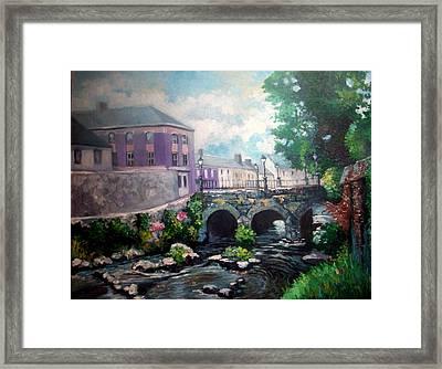 Newcastle West Co Limerick Framed Print