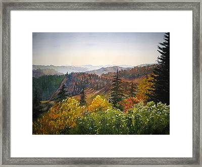 Newfound Gap Framed Print
