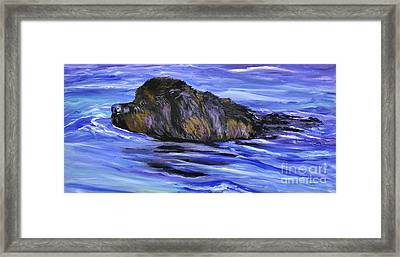 Newfoundland Oil Painting Framed Print
