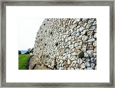 Newgrange Framed Print