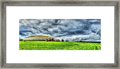 Newgrange's Rolling Thunder Framed Print by Kim Shatwell-Irishphotographer